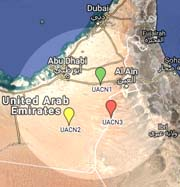 map CAMS UAE